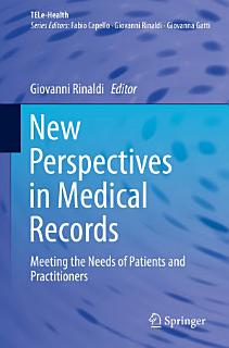 New Perspectives in Medical Records Book