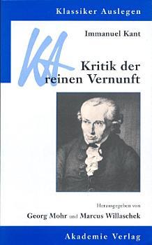 Immanuel Kant  Kritik der reinen Vernunft PDF