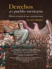 Derechos del pueblo mexicano. México a través de sus constituciones: Sección primera