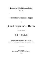 The Construction and Types of Shakespeare's Verse as Seen in the Othello