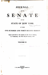 Journal of the Senate of the State of New York ...: Part 2