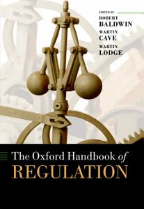 The Oxford Handbook of Regulation PDF