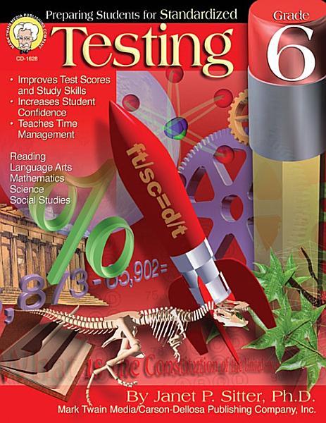 Preparing Students for Standardized Testing  Grade 6 PDF