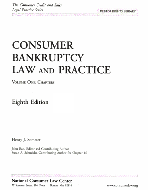 Consumer Bankruptcy Law and Practice PDF