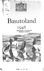 Annual Report on Basutoland