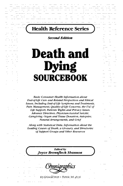 Death and Dying Sourcebook PDF