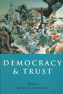 Democracy and Trust Book