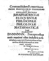 Dissertatio Theologica De Peccato Originali