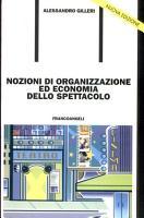 Nozioni di organizzazione ed economia dello spettacolo PDF