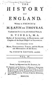 The History of England: Volume 4