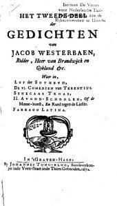 Gedichten van Jacob Westerbaen, ridder, heer van Brandwijck en Gybland &c: Volume 2