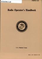 Radio Operator s Handbook PDF