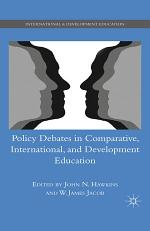 Policy Debates in Comparative, International, and Development Education