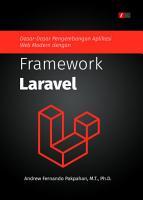 Dasar Dasar Pengembangan Aplikasi Web Modern dengan Framework Laravel PDF