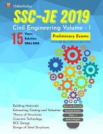 Civil Engineering Volume – I for SSC-JE 2019 (Prelims)