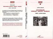 "Dictionnaire Songhay-Anglais-Français: Tome 1 - Koyra Chiini, ou ""songhay de Tombouctou"""