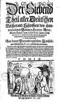 Alle Deutschen B  cher und Schrifften des theuren  seeligen Mannes Gottes  Doctor Martini Lutheri0 PDF