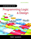 Starting Out With Programming Logic And Design