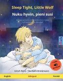 Sleep Tight, Little Wolf - Nuku Hyvin, Pieni Susi (English - Finnish)