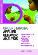Understanding Applied Behavior Analysis Book