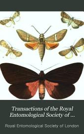Transactions of the Royal Entomological Society of London: Volume 33