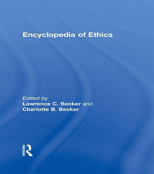 Encyclopedia of Ethics PDF