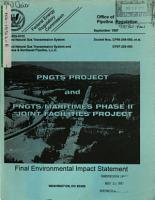 Portland Natural Gas Transmission System  PNGTS  Project  and PNGTS Maritimes   Northeast Pipeline Phase II Joint Facilities Project  MA ME NH VT  PDF