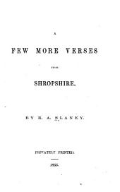 A few more verses from Shropshire