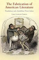 The Fabrication of American Literature PDF