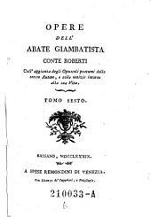 Opere dell'abate giambattista conte Roberti