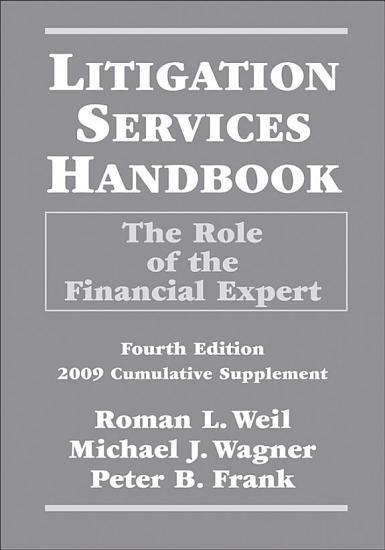 Litigation Services Handbook  2009 Cumulative Supplement PDF