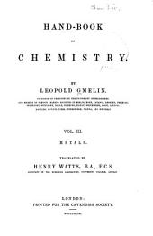 Hand Book of Chemistry: Volume 3
