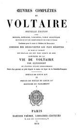 OEuvres complètes de Voltaire: Siècle de Louis XIV (cont'd) Précis du siècle de Louis XV. Histoire du parlement. 1878