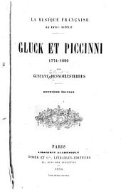 La musique française au XVIIIe siècle: Gluck et Piccinni, 1774-1800