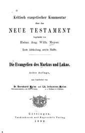 Die Evangelien des Markus und Lukas