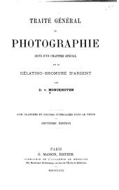Traité général de photographie