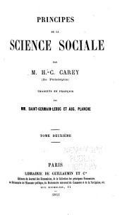 Principes de la science sociale: Volume2