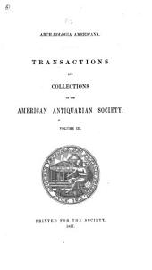 Transactions and Collections: Volume 3