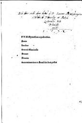 Opera, cum expositoribus Seruio, Landino, Antonio Mancinello, Donato, Domitio
