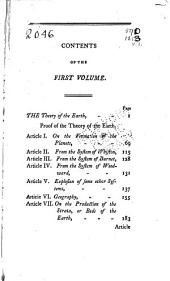 Barr's Buffon. Buffon's Natural History: Containing A Theory of the Earth, A General History of Man, Of the Brute Creation, and Of Vegetables, Minerals, &c. &c. &c, Volume 1