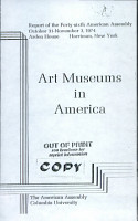 Art Museums in America PDF