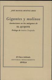 Gigantes y molinos: anotaciones en los márgenes de El Quijote