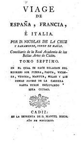 Viage de Espanã, Francia, é Italia: Volúmenes 7-8