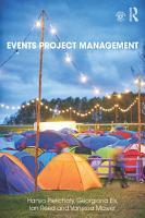 Events Project Management PDF