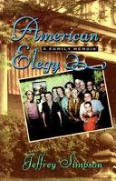 Download American Elegy Book