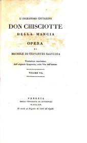 L'ingegnoso cittadino don Chisciotte della Mancia: Volume 7