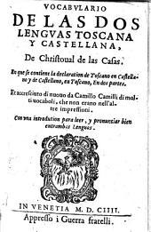 Vocabulario de las dos lenguas Toscana y Castellana