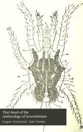 Text-book of the embryology of invertebrates: Volume 3