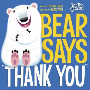 Bear Says  Thank You  PDF