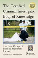 The Certified Criminal Investigator Body of Knowledge PDF